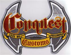 Conquest Customs Engine Covers
