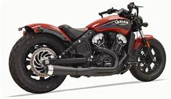 Indian Scout Bobber Exhaust