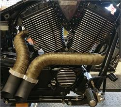Victory Exhaust Pipes - Ground Pounders