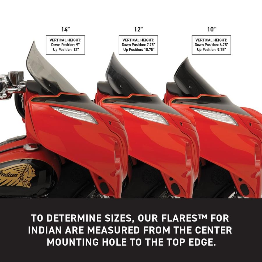Klock Werks Flare for Indian Chieftain//Roadmaster 12 Tint
