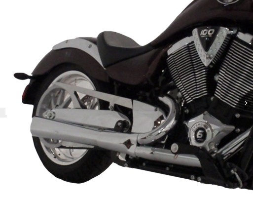 Conquest Customs is your source for Victory Custom Octanes u0026 Ground Pounder Exhaust Pipes and now Indian and Harley-Davidson Pipes.  sc 1 st  Conquest Customs & RPW USA THOR Exhaust Pipe in Chrome or Black for Victory Motorcycles